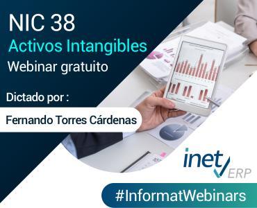 Webinar NIC 38 Activos Intangibles