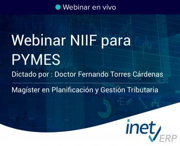 NIIF para PYMES | Video y Presentación del Webinar